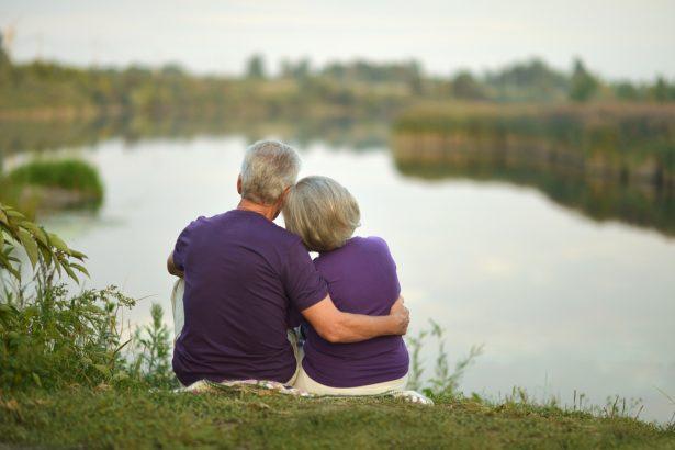 seniors amoureux