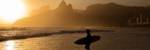 [Vidéo] Vous n'allez pas croire avec quoi ce surfeur de Rio est tombé nez à nez