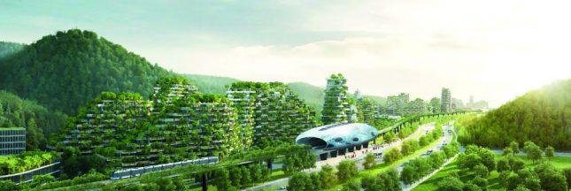 La Chine construit la plus grande ville-forêt au monde