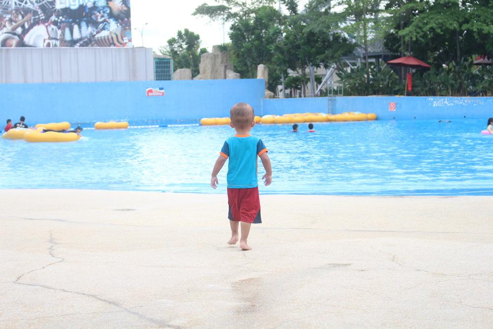 baignade enfant