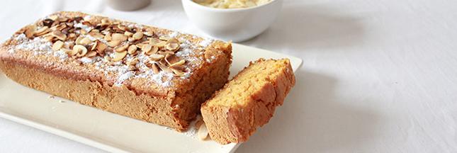 Gâteau à la carotte et aux amandes – recette Vegan