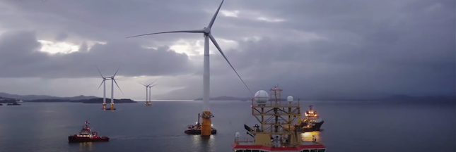 L'Écosse s'apprête à accueillir ses premières éoliennes offshore