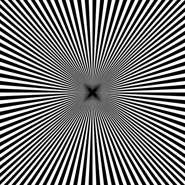 illusion optique noir