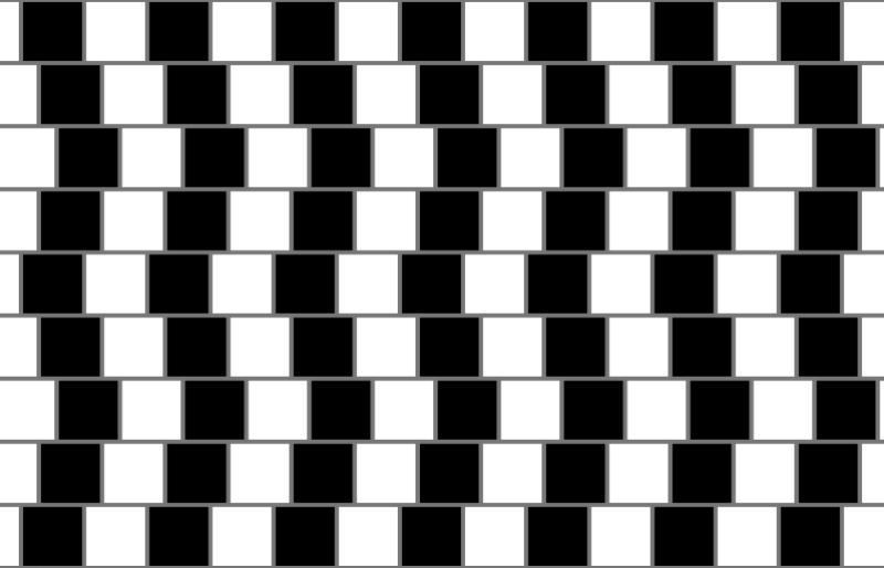 illusion optique parallèles