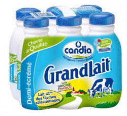 rappel produit, lait candia