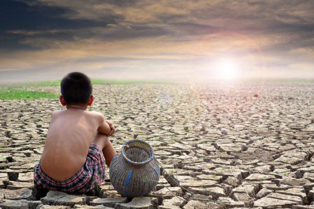 terre inhabitable, sécheresse, hausse des température
