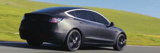 Tesla Model 3 : les premiers exemplaires livrés fin juillet