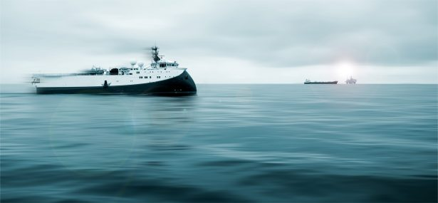 vibroseis marin, vaisseau de propection sous marine