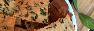Recette : crackers au sarrasin sans gluten pour l'apéro!