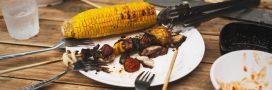 Barbecues: le gaspillage alimentaire part en fumée