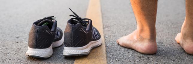 Courir pieds nus: est-ce vraiment le pied?