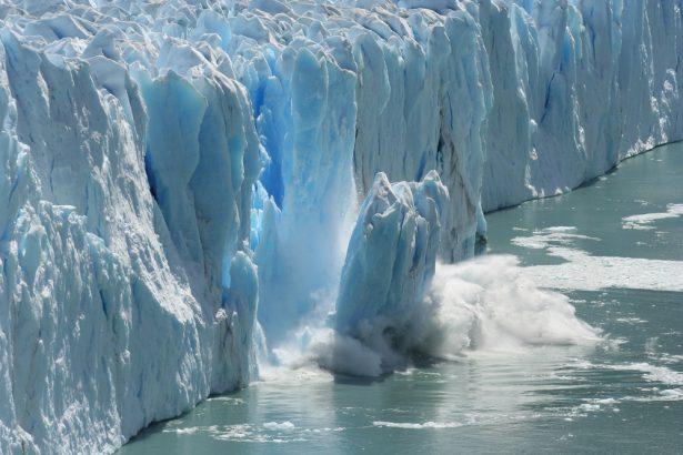 fonte des glaces, réchauffement climatique