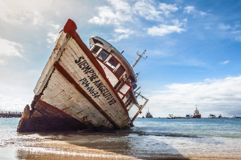 galapagos bateau