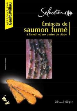 rappel produit, saumon fumé, carrefour