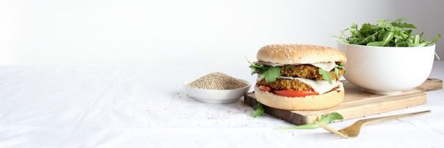 Recette du burger végétarien au quinoa