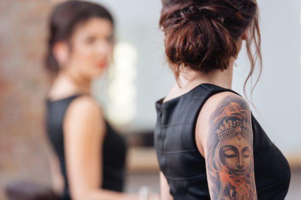 encre des tatouages