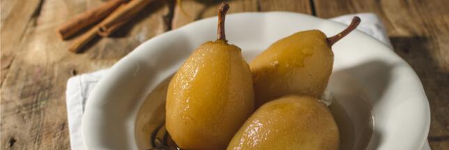 Évasion culinaire automnale: les poires à la vapeur de thé