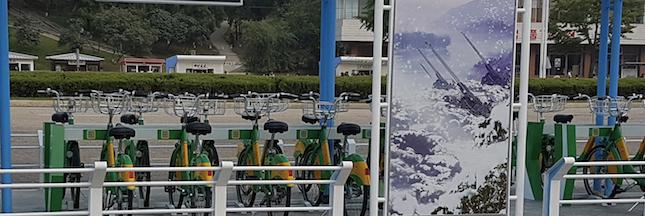 Au coeur de la tourmente, Pyongyang se dote de vélos en libre service