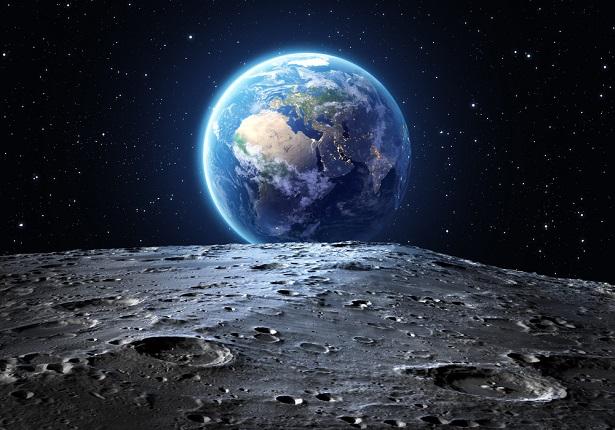 moonark, terre vue de la lune