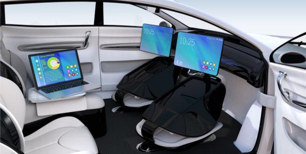 véhicules autonomes intérieur, Ross Douglas