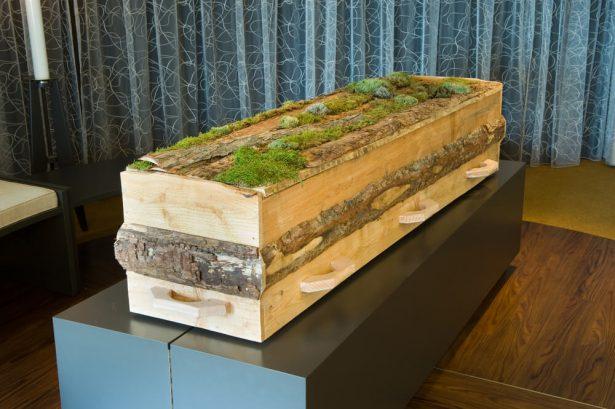 funérailles, cercueil écologique
