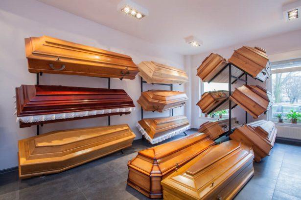 cercueils, obsèques