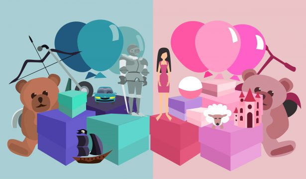 jouets de no l des catalogues encore trop sexistes. Black Bedroom Furniture Sets. Home Design Ideas