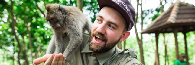 Les selfies avec les animaux sauvages, une nouvelle pratique dangereuse
