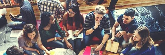 Education : niveau moyen des élèves français pour le travail collaboratif