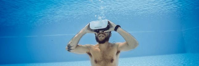 INSOLITE - Nager avec des dauphins virtuels, une nouvelle thérapie ?