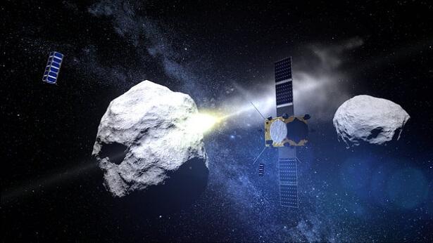 Impact Astéroïde CubeSat