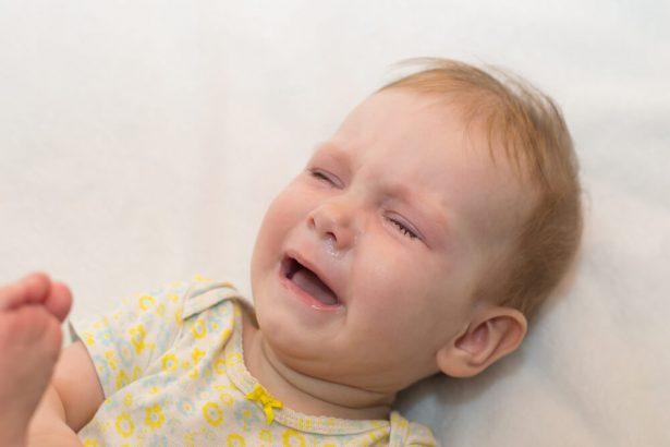 bronchiolite, bébé malade