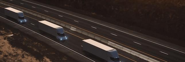 Elon Musk présente son nouveau camion électrique: le Tesla Semi