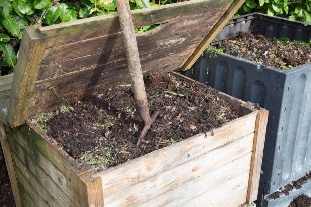 cacher le compost