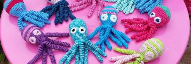 Et si vous tricotiez des pieuvres pour soulager les bébés prématurés ?