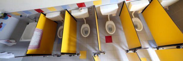 toilettes à l'école