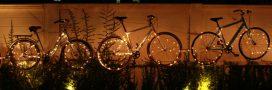 'Cyclistes, brillez!' Comment bien s'éclairer à vélo?