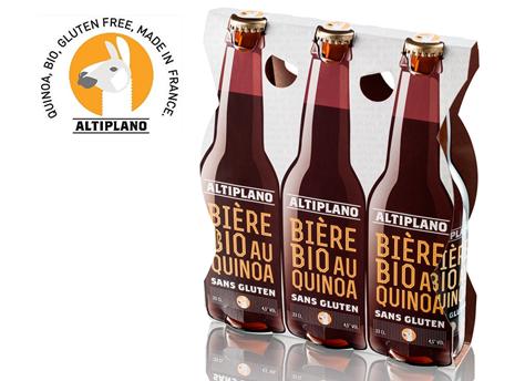 Altiplano, bière au quinoa sans gluten