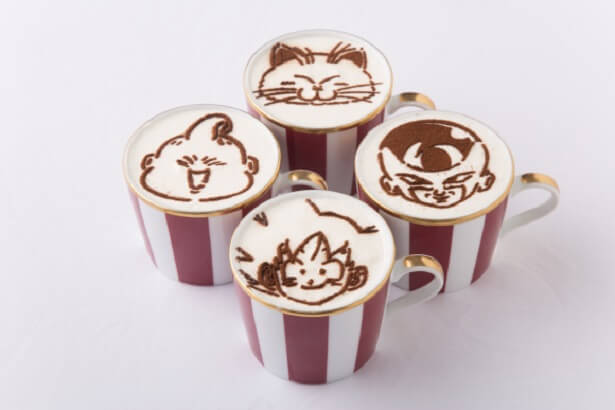 Cappuccino Dragon Ball Z Restaurant