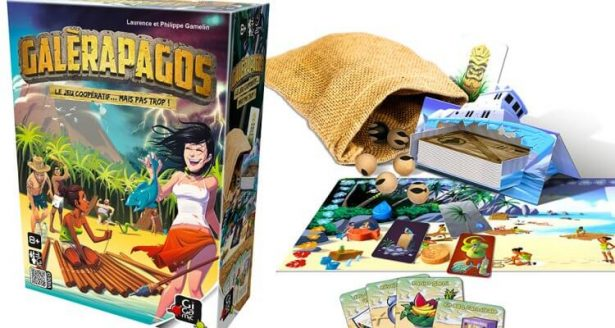 jeu éducatif environnement, galerapagos