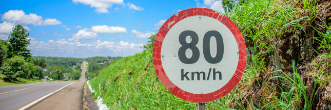 Sondage - Êtes-vous favorable à la limitation de vitesse à 80km/h ?