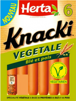 knackie végétale