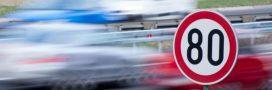 Sécurité routière: des arguments en faveur de la limitation de vitesse à 80 km/h