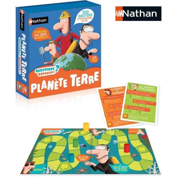jeu éducatif environnement, planète terre