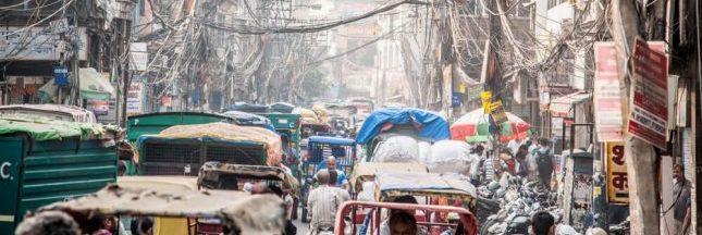 Delhi : des canons à eau pour lutter contre la pollution