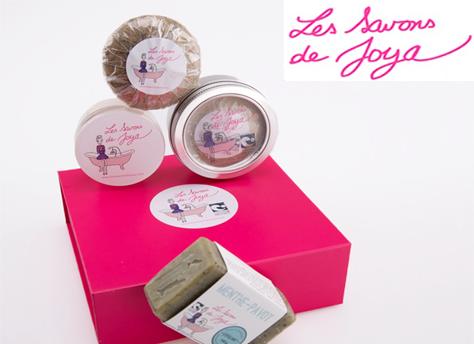 Les savons de Joya, cosmétique solide et bio