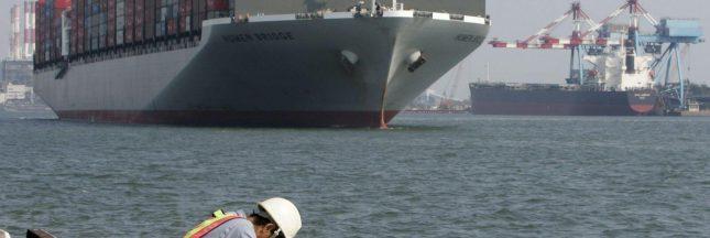 Le premier cargo électrique a pris le large en Chine