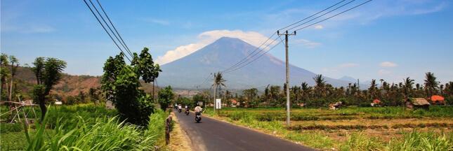 L'éruption du mont Agung en Indonésie peut-elle avoir un impact sur le climat global?
