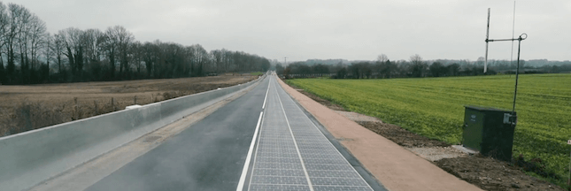 La route solaire Wattway a soufflé sa première bougie. Bilan