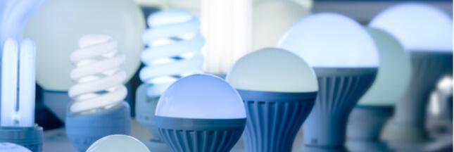 L'utilisation d'ampoules LED a permis d'économiser 162 centrales à charbon en 2017 !